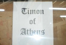 Timon of Athens Sign