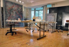 CBG11 Studio with Paintings