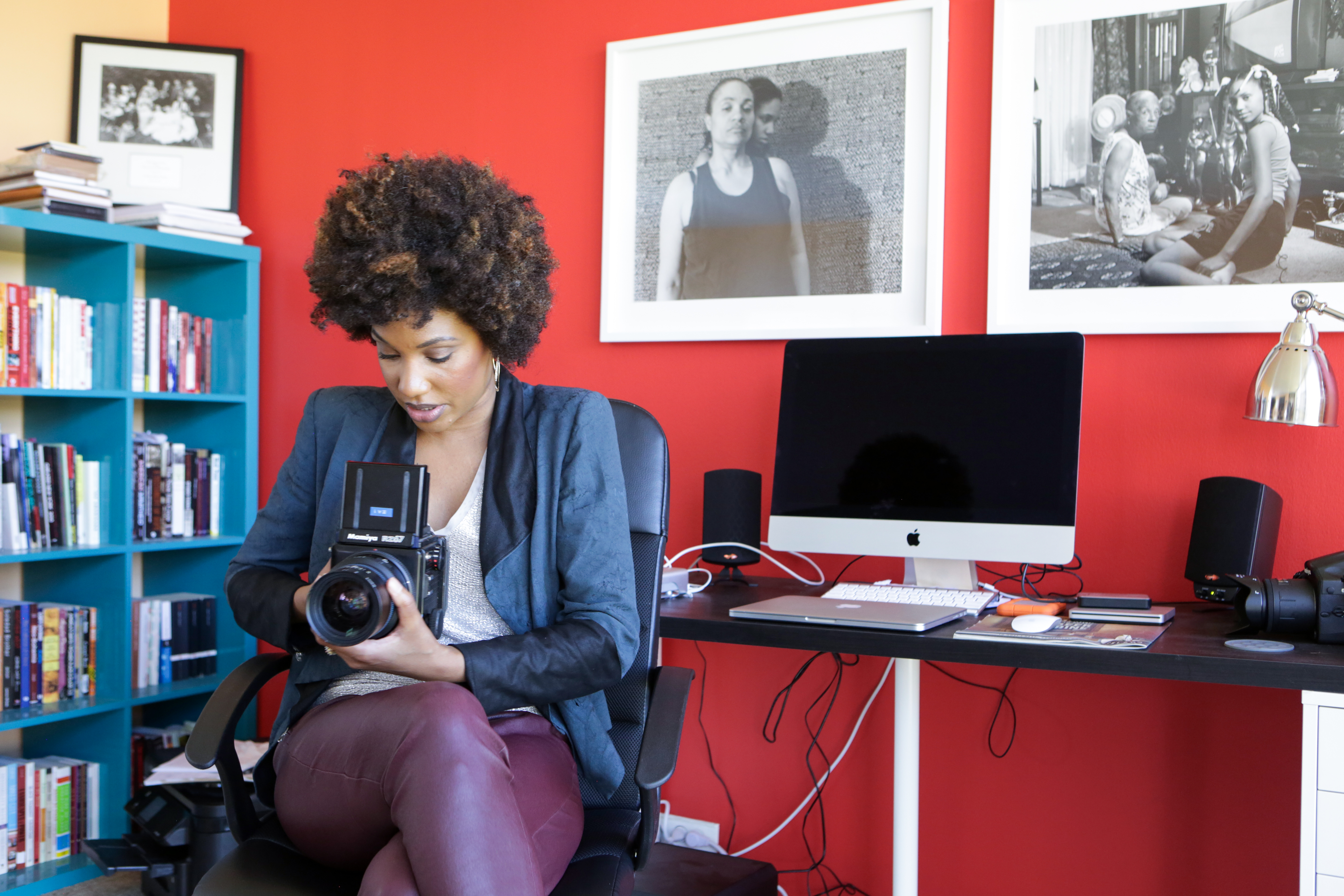 CHICAGO, ILLINOIS, SEPTEMBER 12, 2015 : LaToya Ruby Frazier photographed in Chicago (John D. & Catherine MacArthur Foundation)