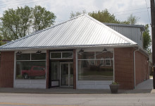 Exterior of the Osage Arts Community gallery space in Belle,  MO