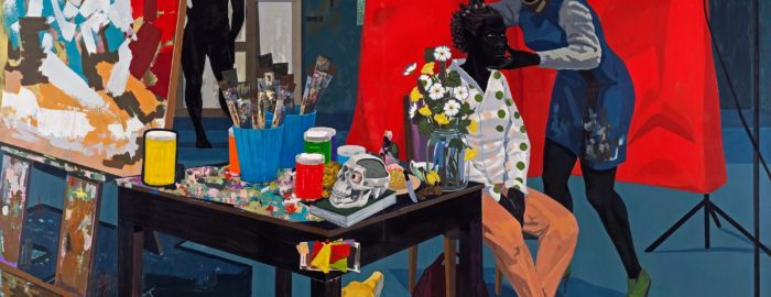 """Studio"" by Kerry James Marshall"